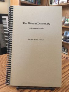 The Quincy Group Dictionary